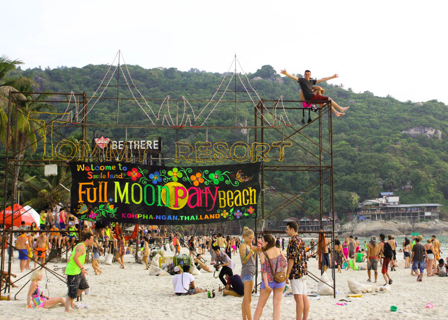 full moon party en tailandia
